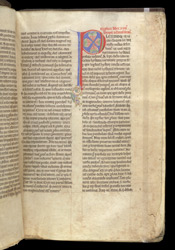 Decorated Initial, In Gregory The Great's 'Commentary On The Book Of Job' f.12r